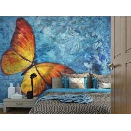 Murando DeLuxe Tapeta s motýlem 150x116 cm