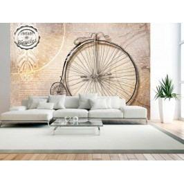 Murando DeLuxe Tapeta historický bicykl 150x105 cm