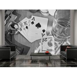 Murando DeLuxe Tapeta Poker 150x105 cm
