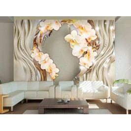 Murando DeLuxe Řeka orchidejí I. 150x105 cm