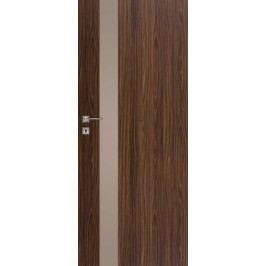 DRE Vnitřní dveře VETRO D1 decormat hnědý