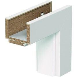 VERTE BASIC - Polodrážková zárubeň regulovaná v provedení - Lakovaná deska