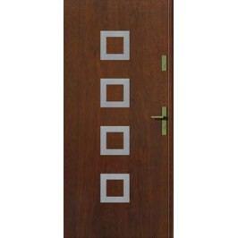 Dveře Thermika Kwadro INOX s aplikací