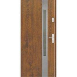 Dveře Thermika Elevado 1 s vitráží