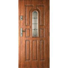 Dveře Thermika 9 Panelů, vitráž A
