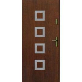 Dveře Prima Kwadro INOX s aplikací