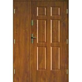 Dveře Thermika Falc 4+2 Paneli dvoukřídlé
