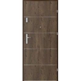 Vstupní dveře Porta Opal Plus frézované model 6