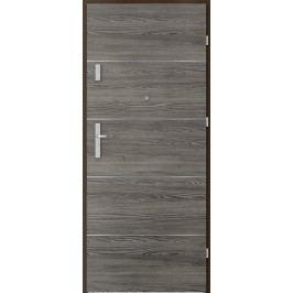 Vstupní dveře Porta Agat Plus s intarzií model 6