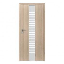 Interiérové dveře PORTA DOORS - SPACE F.1 Sklo žebřík Přírodní dýha