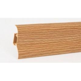 Podlahová lišta soklová PVC 429 dub královský výška 52mm