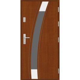 Vchodové dřevěné dveře AGMAR - MORA