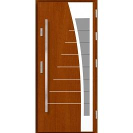 Vchodové dřevěné dveře AGMAR - DOKA