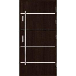 Vchodové dřevěné dveře AGMAR - HARSA