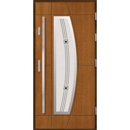 Vchodové dřevěné dveře AGMAR - SULA