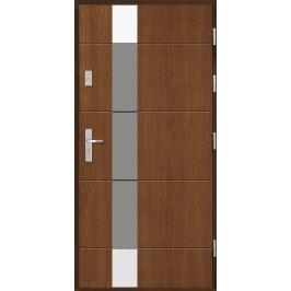 Vchodové dřevěné dveře AGMAR - AGLE