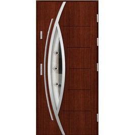 Vchodové dřevěné dveře AGMAR - UNO