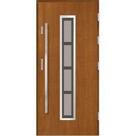 Vchodové dřevěné dveře AGMAR - IGNES