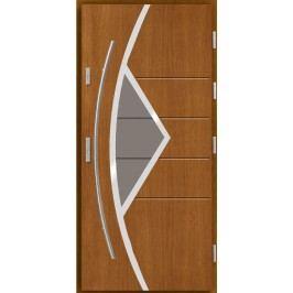 Vchodové dřevěné dveře AGMAR - MELBU