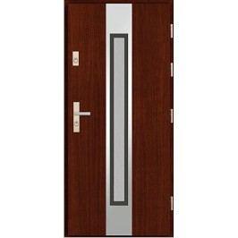 Vchodové dřevěné dveře AGMAR - SATINA