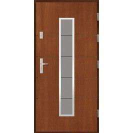 Vchodové dřevěné dveře AGMAR - SIRO