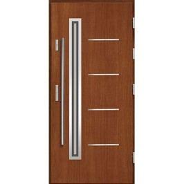 Vchodové dřevěné dveře AGMAR - DRACO