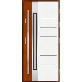 Vchodové dřevěné dveře AGMAR - HOFTA