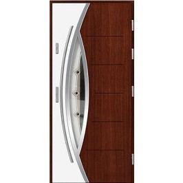 Vchodové dřevěné dveře AGMAR - DUO