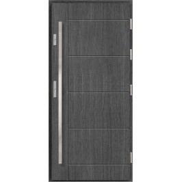 Vchodové dřevěné dveře AGMAR - ERGO