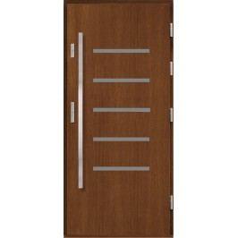 Vchodové dřevěné dveře AGMAR - MONTANA