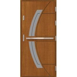 Vchodové dřevěné dveře AGMAR - ASGER