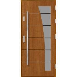 Vchodové dřevěné dveře AGMAR - AJTRA