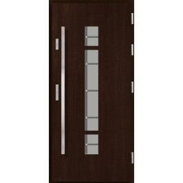 Vchodové dřevěné dveře AGMAR - ANGA