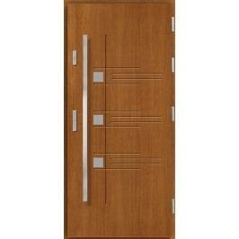 Vchodové dřevěné dveře AGMAR - NUMA