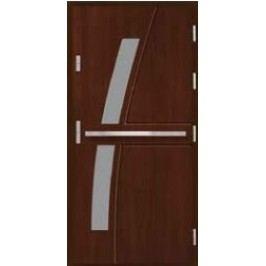 Vchodové dřevěné dveře AGMAR - RIKA