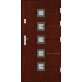 Vchodové dřevěné dveře AGMAR - HEDEN