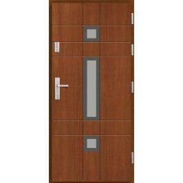 Vchodové dřevěné dveře AGMAR - ROSON