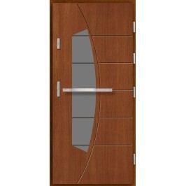 Vchodové dřevěné dveře AGMAR - OKE