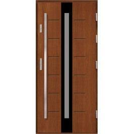 Vchodové dřevěné dveře AGMAR - VITRUM