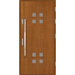 Vchodové dřevěné dveře AGMAR - RISA