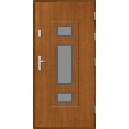 Vchodové dřevěné dveře AGMAR - OGNA