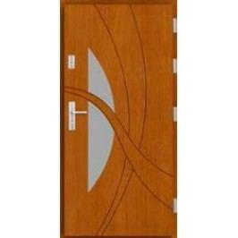 Vchodové dřevěné dveře AGMAR - LUPO