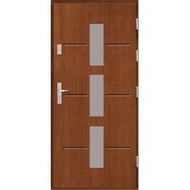 Vchodové dřevěné dveře AGMAR - AKTUS