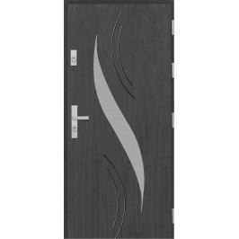 Vchodové dřevěné dveře AGMAR - DACO