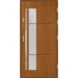 Vchodové dřevěné dveře AGMAR - PLATA
