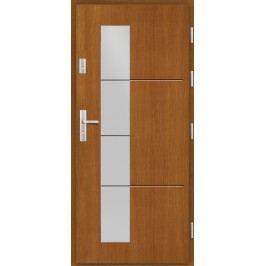 Vchodové dřevěné dveře AGMAR - DONDO