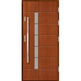 Vchodové dřevěné dveře AGMAR - GABO