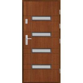 Vchodové dřevěné dveře AGMAR - SALADO