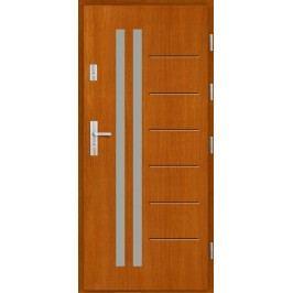 Vchodové dřevěné dveře AGMAR - BATUMI