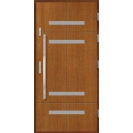 Vchodové dřevěné dveře AGMAR - UWEN